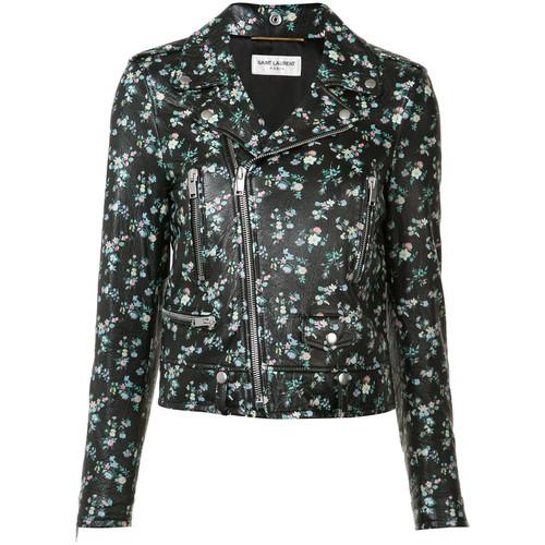 SAINT LAURENT Cropped Blazer Jacket