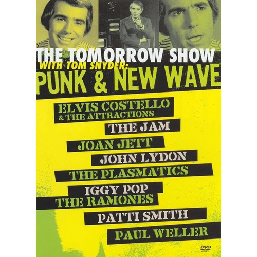 The Tomorrow Show with Tom Snyder: Punk and New Wave (2 Discs) (dvd_video)