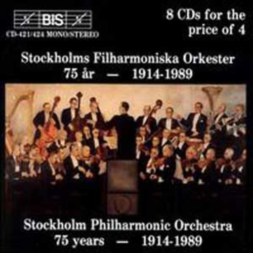 Stockholm Philharmonic 75th Anniversary By Stockholm Philharmonic Orchestra (Audio CD)
