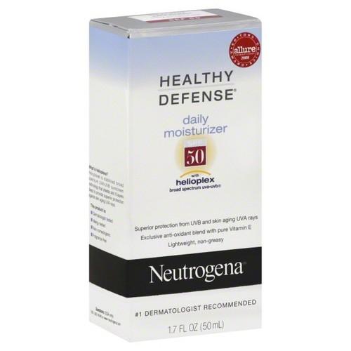 Neutrogena Healthy Defense Daily Moisturizer, SPF 50, 1.7 fl oz (50 ml)