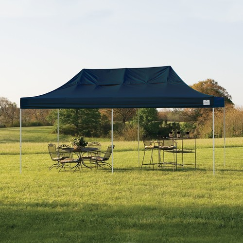 ShelterLogic Pop-Up 10' x 20' Truss Pro Canopy Tent with Black Cover