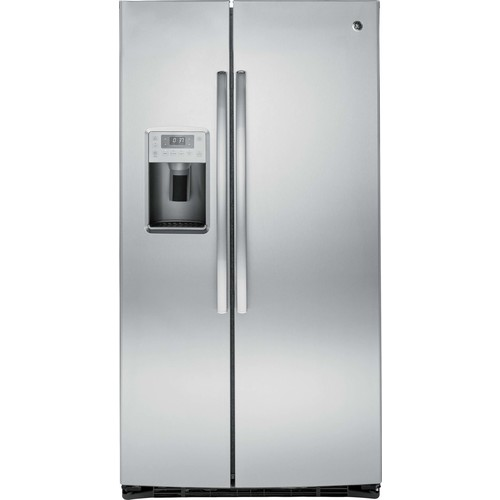 25 cu. ft. Side-by-Side Refrigerator - Stainless Steel