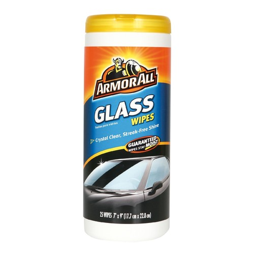 Armor All Glass Wipes, 25 wipes