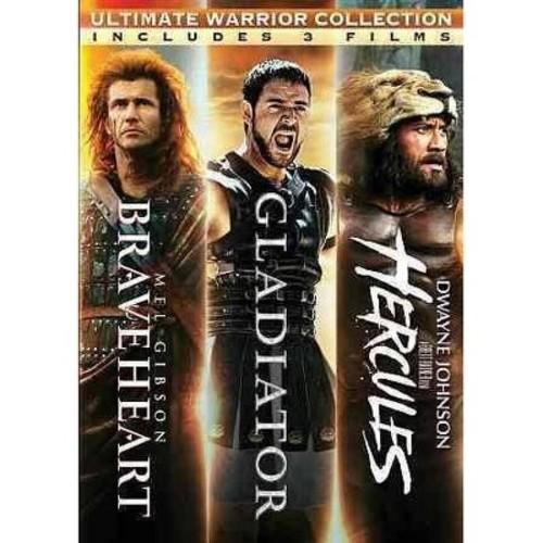 Ultimate Warrior Collection: Braveheart/Gladiator/Hercules [DVD]