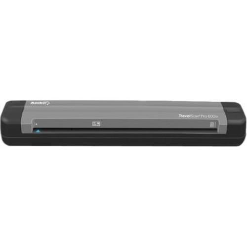 Ambir TravelScan Pro 600ix Sheetfed Scanner, 600 dpi Optical