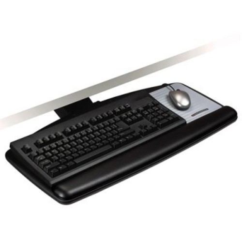 3M AKT91LE Easy Adjust Keyboard Tray With Standard Platform, 17 3/4