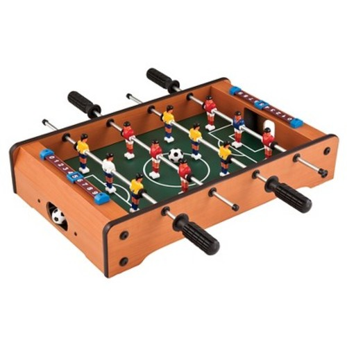 GLD Products Brown Table Top Foosball