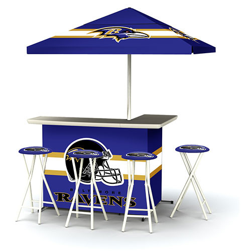 Best of Times NFL Patio Bar and Tailgating Center Deluxe Package- Kansas City Chiefs [Kansas City Chiefs]