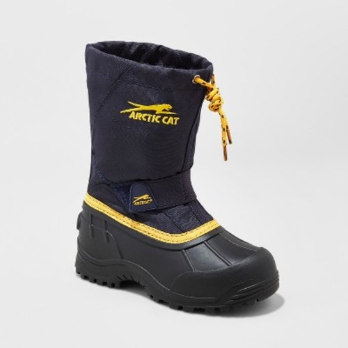 Toddler Boys' Arctic Cat Snowshower Winter Boots - Navy