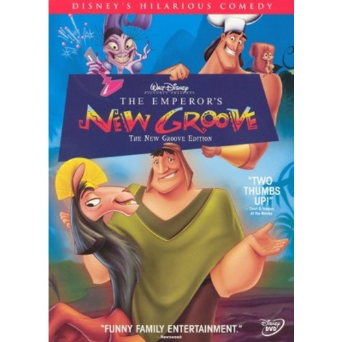 The Emperor's New Groove (The New Groove Edition) (dvd_video)