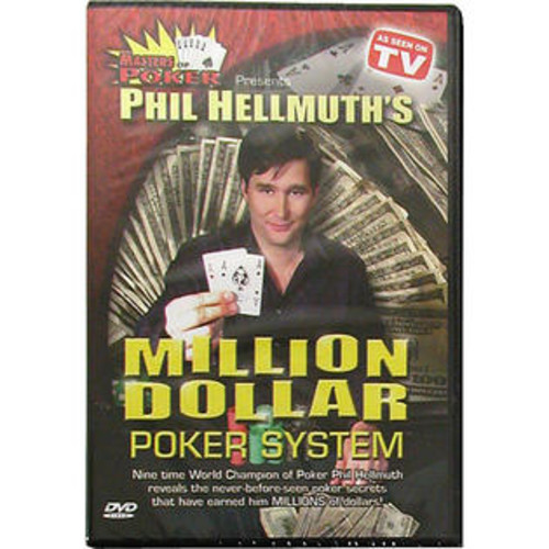 Trademark Global DVD - Phil Hellmuth's Million Dollar Poker System