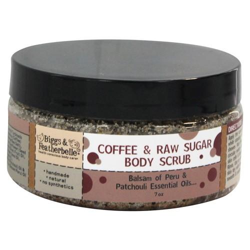 Biggs & Featherbelle - Body Scrub Coffee & Raw Sugar - 7 oz.