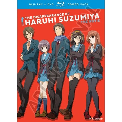 The Disappearance of Haruhi Suzumiya: The Movie [Blu-ray] [3 Discs] [2010]