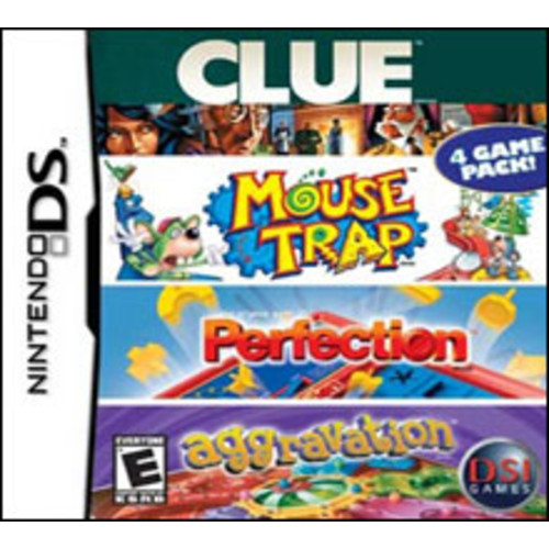 Clue/Perfection/Aggravation/MouseTrap [Pre-Owned]