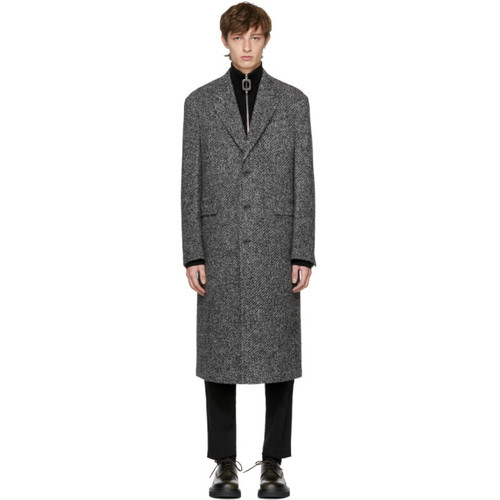 JIL SANDER Grey Newton Coat