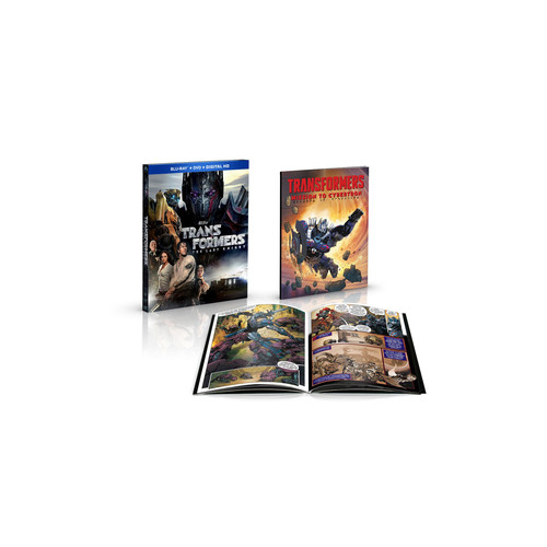 Transformers: The Last Knight Blu-Ray Combo Pack (Blu-Ray/DVD/Digital HD) with Comic Book
