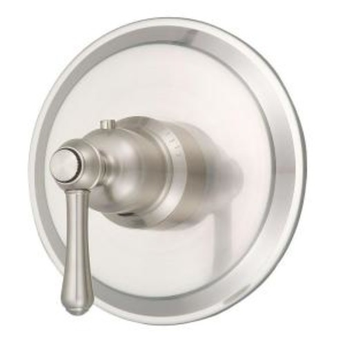 Danze Opulence 3/4 in. Thermostatic Shower Valve Trim Only in Brushed Nickel