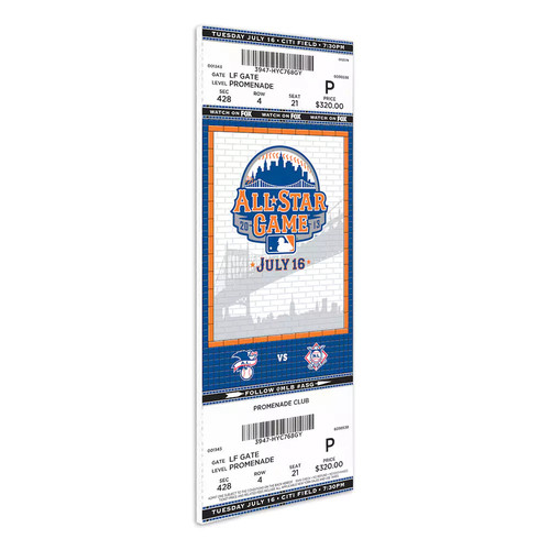 York Mets 2013 MLB All-Star Game Mega Ticket