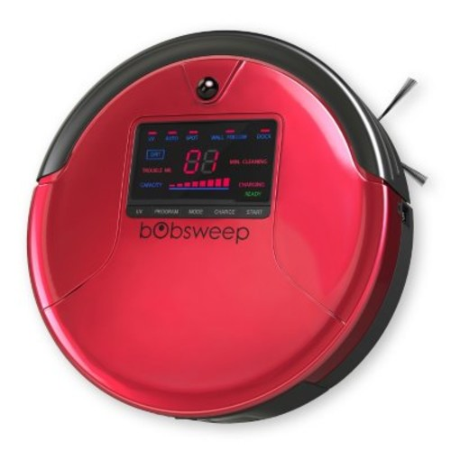 bObsweep PetHair Robotic Vacuum and Mop (Assorted Colors) [OriginalColor : :Rouge; color :]