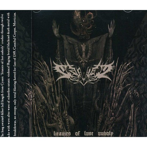 Litanies of Lust Unholy [CD]