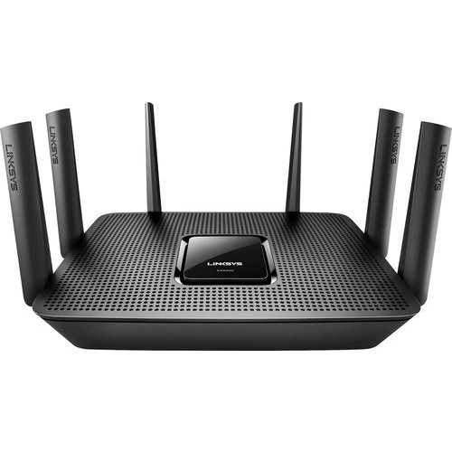 Linksys - Max-Stream AC4000 Tri-Band Wi-Fi Router - Black