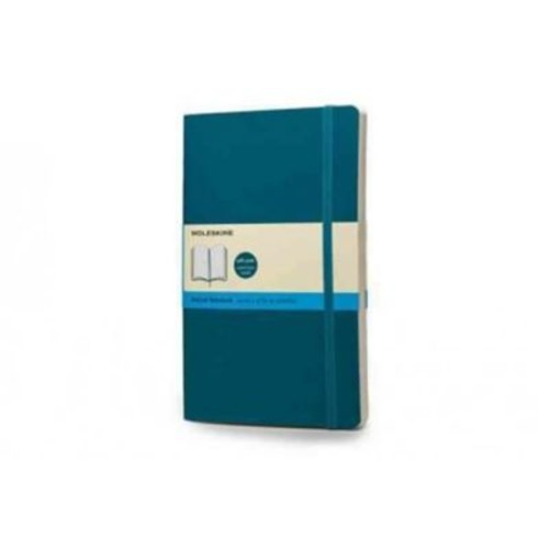 Moleskine Pocket Dotted Notebook Large, Underwater Blue