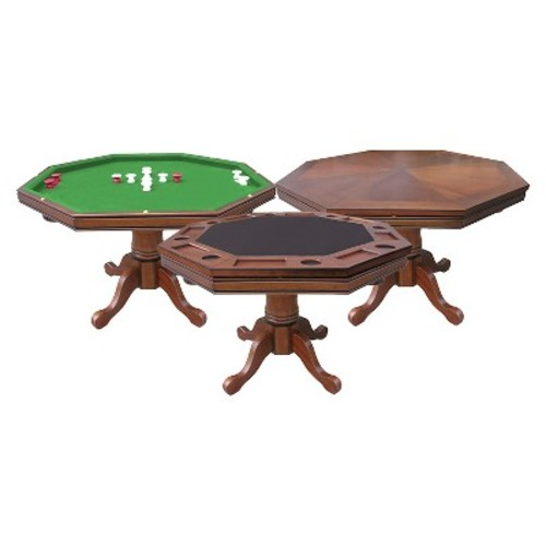 Hathaway Poker Table - Walnut