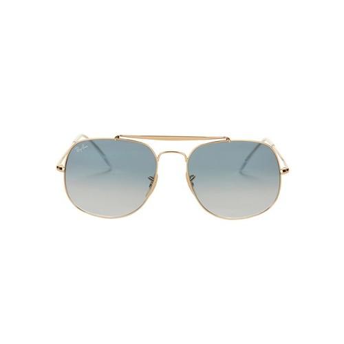 RAY-BAN Oversized Caravan Blue Gradient Sunglasses