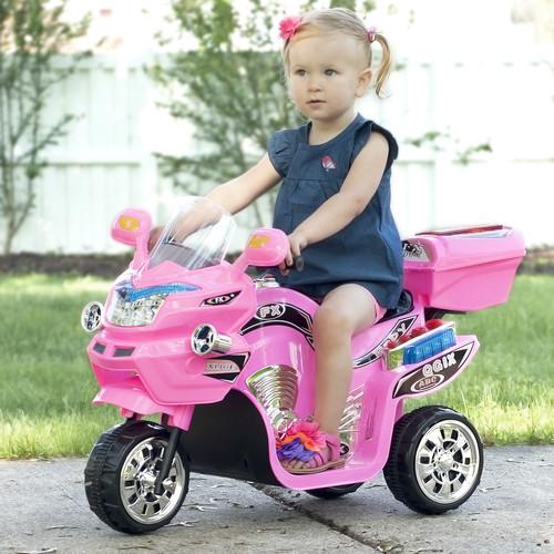 Lil' Rider 3-Wheel FX Sport Bike - Pink