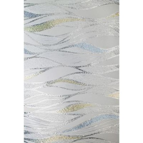 Artscape 24 in. x 36 in. Waterlines Decorative Window Film