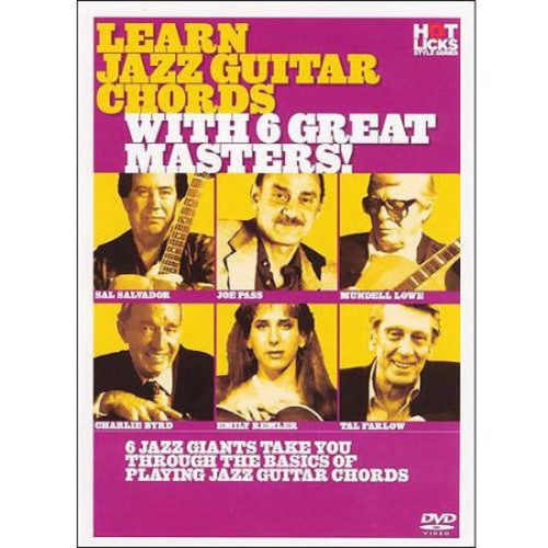 Learn Jazz Guitar Chords With 6 Great Masters! [DVD]