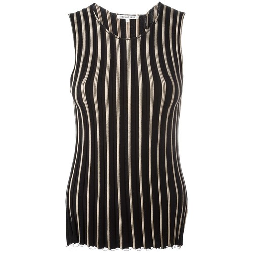 HELMUT LANG Knitted Pleated Tank