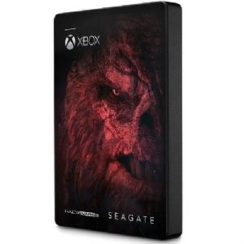 Seagate 2TB Game Drive - For Xbox One, Halo Wars 2, USB 3.0, Portable, Black - STEA4000407
