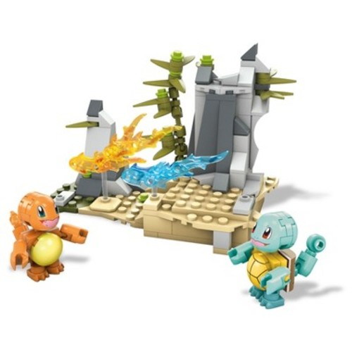 Mega Construx Pokemon Squirtle vs. Charmander Building Set
