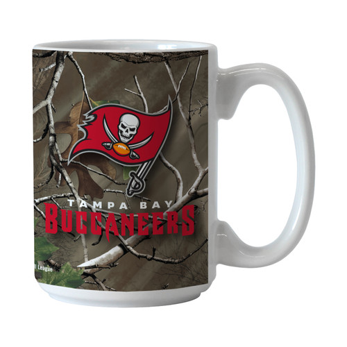 NFL Realtree Ceramic Mug - Tampa Bay Buccaneers