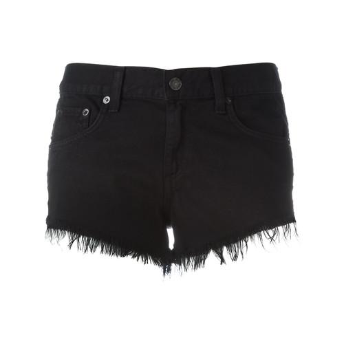 RAG & BONE /JEAN Frayed Denim Shorts