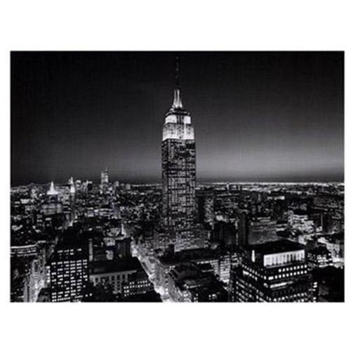 Henri Silberman Empire State Building at Night Print - 19.75 x 15.75