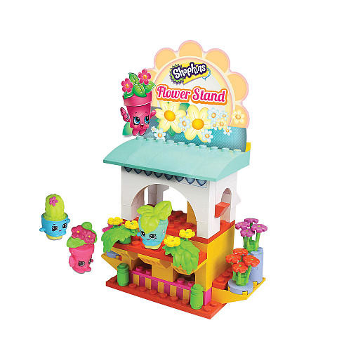 Shopkins Kinstructions Shopping Pack Buildable Playset - Flower Stand