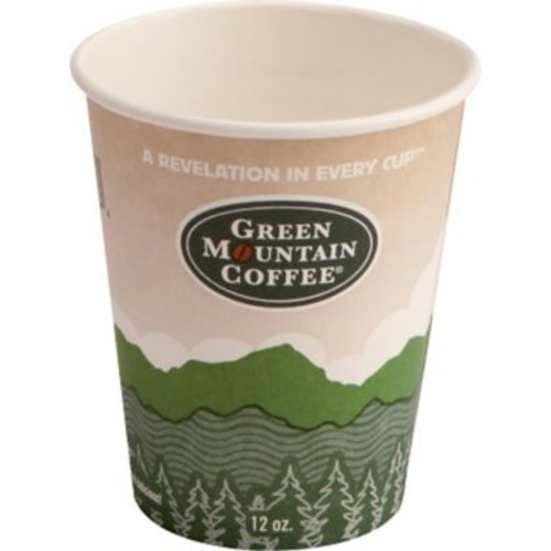 Green Mountain Coffee Roasters Eco-Friendly Paper Hot Cups