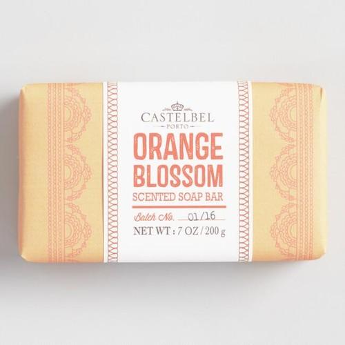 Castelbel Mehndi Orange Blossom Bar Soap