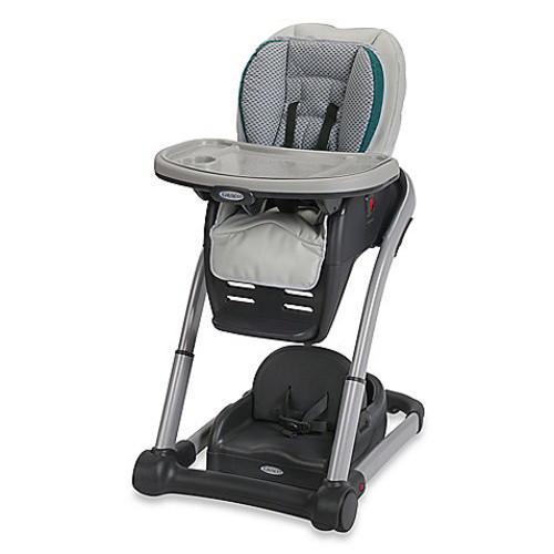 Graco Blossom 4-in-1 High Chair Seating Cushion System in Sapphire