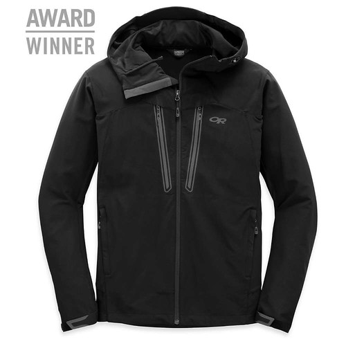 OUTDOOR RESEARCH Mens Ferrosi Summit Hooded Jacket