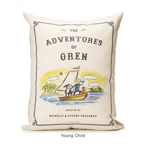 Personalized Storybook Pillow - Adventure [Baby]
