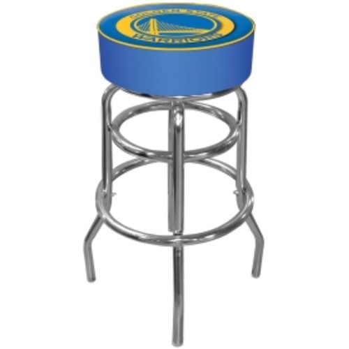 Trademark Games Golden State Warriors Padded Bar Stool