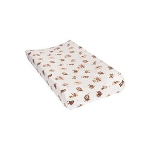 Trend Lab Safari Rock Band Deluxe Flannel Changing Pad Cover