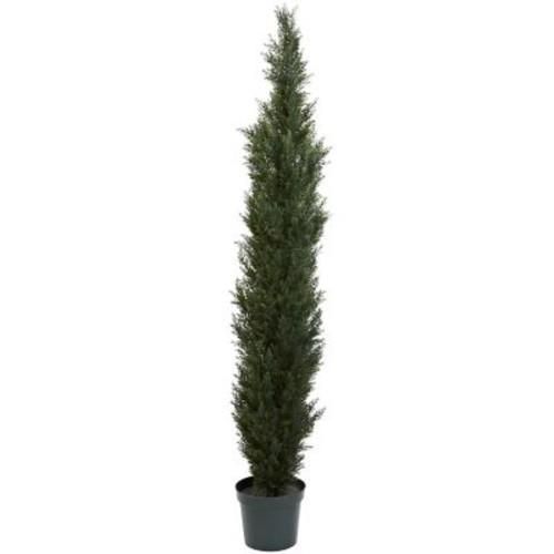 Nearly Natural 5429 Cedar Pine Tree 7-feet Green