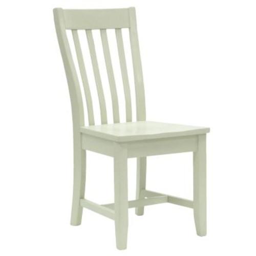 Carolina Cottage Prairie Antique Ivory Wood Dining Chair