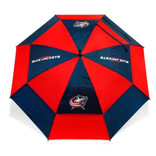 Team Golf Columbus Blue Jackets 62 Double Canopy Umbrella