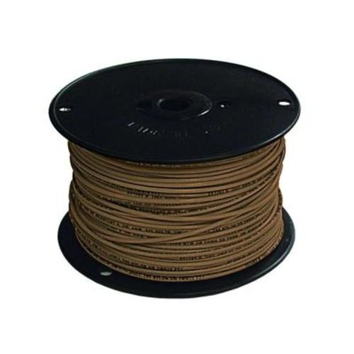 Southwire 500 ft. 16 Brown Stranded CU TFFN Fixture Wire