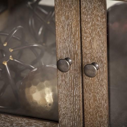 Harper Blvd Bellstrom Lighted Contemporary Curio Display Cabinet